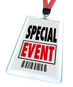 Special Event Badge Lanyard Conference Expo Convention